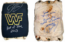 WWF WWE MICK FOLEY RING USED TURNBUCKLE SIGNED W/PROOF