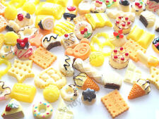 BULK BUY! 20pcs Mixed Sweet Treat Cakes Cookies Ice Cream Flatback Decoden Kit