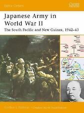 "Japanese Army in World War II: ""The South Pacific and New Guinea, 1942-43"" (Batt"