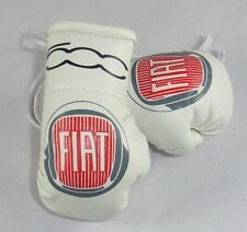 Fiat 500  Mini boxing gloves ideal for rear view mirror