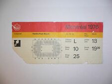1976 OLYMPIC GAMES MONTREAL CANADA TICKET VOLLEYBALL 18-7-1976 Poland Champion