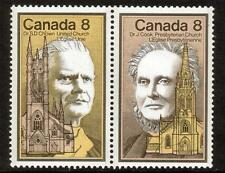 Canada MNH 1975 Canadian Celebrities