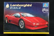 XW056 ITALERI 1/24 maquette voiture 667 Lamborghini Diablo -  Ptitoys
