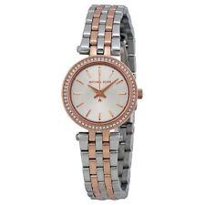 Michael Kors Ladies Darci Watch Two Tone Stainless Steel Bracelet MK3298