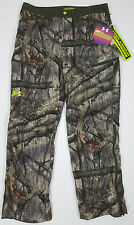 UNDER ARMOUR COLDGEAR SC RUT HUNTING PANTS MOSSY OAK CAMO $160 1247870 (SIZE 36)