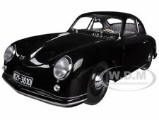 1950 PORSCHE 356 COUPE BLACK 1/18 DIECAST CAR MODEL BY AUTOART 77946