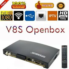 Openbox V8S Digital Satellite TV Receiver DVB Decoder Support USB Wifi Dongle 3G