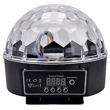 HOSL Super Wonderful LED RGB Crystal Magic Ball Effect light DMX Disco DJ #742