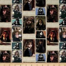 Camelot Harry Potter Digital Hermione Multi 100% cotton fabric by the yard