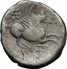 DYRRHACHIULM in ILLYA 300BC Hercules Pegasus Ancient Silver Greek Coin  i49063