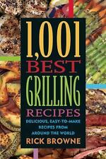 1,001 Best Grilling Recipes: Delicious, Easy-to-Make Recipes from Arou-ExLibrary