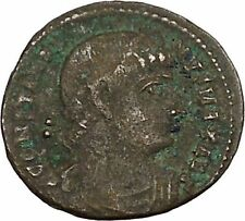 CONSTANTINE I the GREAT 330AD Ancient Roman Coin Legions Glory of army  i42481