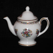 RARE!!  DISCONTINUED COALPORT MING ROSE PATTERN MINI / MINIATURE TEAPOT NEW