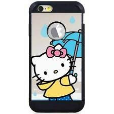 Apple iPod Touch 5/6 5th/6th Gen. Hybrid Case Cover Hello Kitty Umbrella