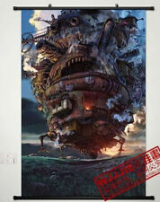 Anime Howl's Moving Castle Home Decor Poster Wall Scroll 60*90CM HE007
