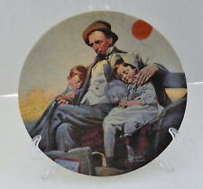 Home From the County Fair 26th Plate Norman Rockwell Heritage Collection No COA