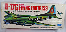 Guillows B-17G Boeing Flying Fortress Balsa Wood RC Airplane Kit Model 2002 45""