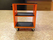 1/18 SCALE TSM BETA TOOL KIT ROLL CART TROLLEY MODIFIED GARAGE WORKSHOP DIORAMA