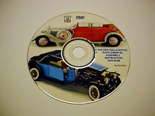 NEWLY REVISED POCHER ROLLS ROYCE SUPPLEMENTAL INSTRUCTION DVD-ROM K75/K72