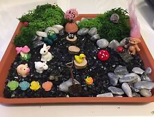 Fairy Garden Miniatures 34 Items Dolls House Fairy Doors Magic Garden
