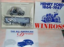 1991 History of Ford Trucks #9 1948 Dream Winross Diecast Delivery Trailer Truck