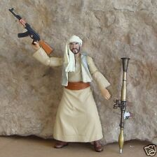 1:18 Afganistan Insurgent Taliban Figure RPG AK47 Rifle for BBI 21st century