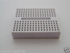 1x Mini Solderless Breadboard in White 170 point. Suit Raspberry Pi or Arduino