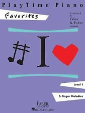 Faber Piano Adventures PlayTime Piano Favorites Level 1