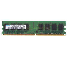 High Quality Samsung 2GB DDR2 800MHz PC2-6400U 240PIN DIMM RAM intel CPU memory