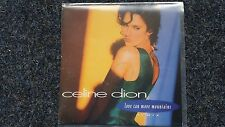 Celine Dion - Love can move mountains 7'' Single PROMO SPAIN