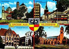Grüsse aus Hildesheim  ,Ansichtskarte, gelaufen
