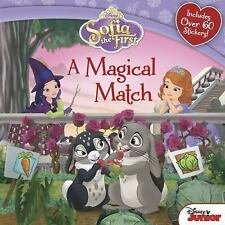 Sofia the First a Magical Match - Includes Over 60 Stickers (2014 Disney)