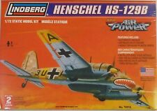 Lindberg 1/72 Henschel HS-1299 Model Kit 70518 New
