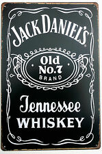 JACK DANIELS  METAL TIN SIGNS vintage cafe pub brew garage retro kitchen