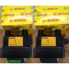 LAND ROVER IGNITION COIL SET x2 DISCOVERY 2 II  RANGE P38 ERR6045 BOSCH