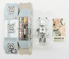 Medicom BE@RBRICK Series 13 Chrome Basic Letter C Bearbrick 100% - NEW