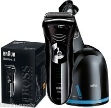 Braun Series 390CC-4 Hugo Boss Limited Edition Rechargeable Electric Shaver