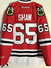 Reebok Premier NHL Jersey Chicago Blackhawks Andrew Shaw Red sz L