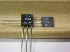2 Vishay S102K 8K .4W .01% Bulk Metal Foil High Precision Resistors