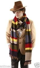 Dr Doctor Who Cosplay Scarf Fourth 4th 12' DELUXE Tom Baker Striped