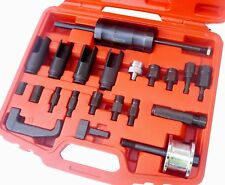 Diesel Injector Puller Remover Tool 23pc Universal Master Kit All Makes Removed