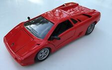Maisto Lamborghini Diablo Red 1:24 Diecast No Box Model Replica