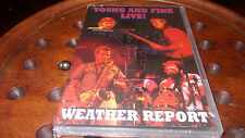 dvd weather report young and fine live Dvd ..... Nuovo
