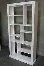 local made solid pine timber wooden room divider bookcase display unit