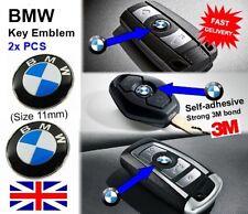 BMW 2X remoto/Llavero Emblemas Insignias/11mm 1 3 4 5 6 7 X1 X2 E90 E46 F10 3M