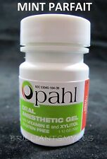 Opahl 20% Benzocaine Topical Anesthetic Gel MINT Tattoo Numbing Piercing
