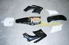 Apollo Dirt Pit Bike Fairings Plastic Body Parts Black 110cc 125cc 140cc 150cc