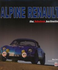 Alpine Renault the fabulous Berlinettes A108 A110 Roy Smith - book - WAS £75 !!!