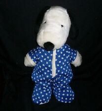 KOHL'S CARES FOR KIDS SNOOPY STUFFED ANIMAL PLUSH TOY PUPPY DOG IN BLUE PAJAMAS
