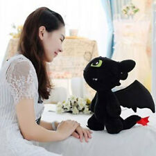 "12"" How to Train Your Dragon Plush Toothless Night Fury Soft Toy Doll XMAS GIFT"
